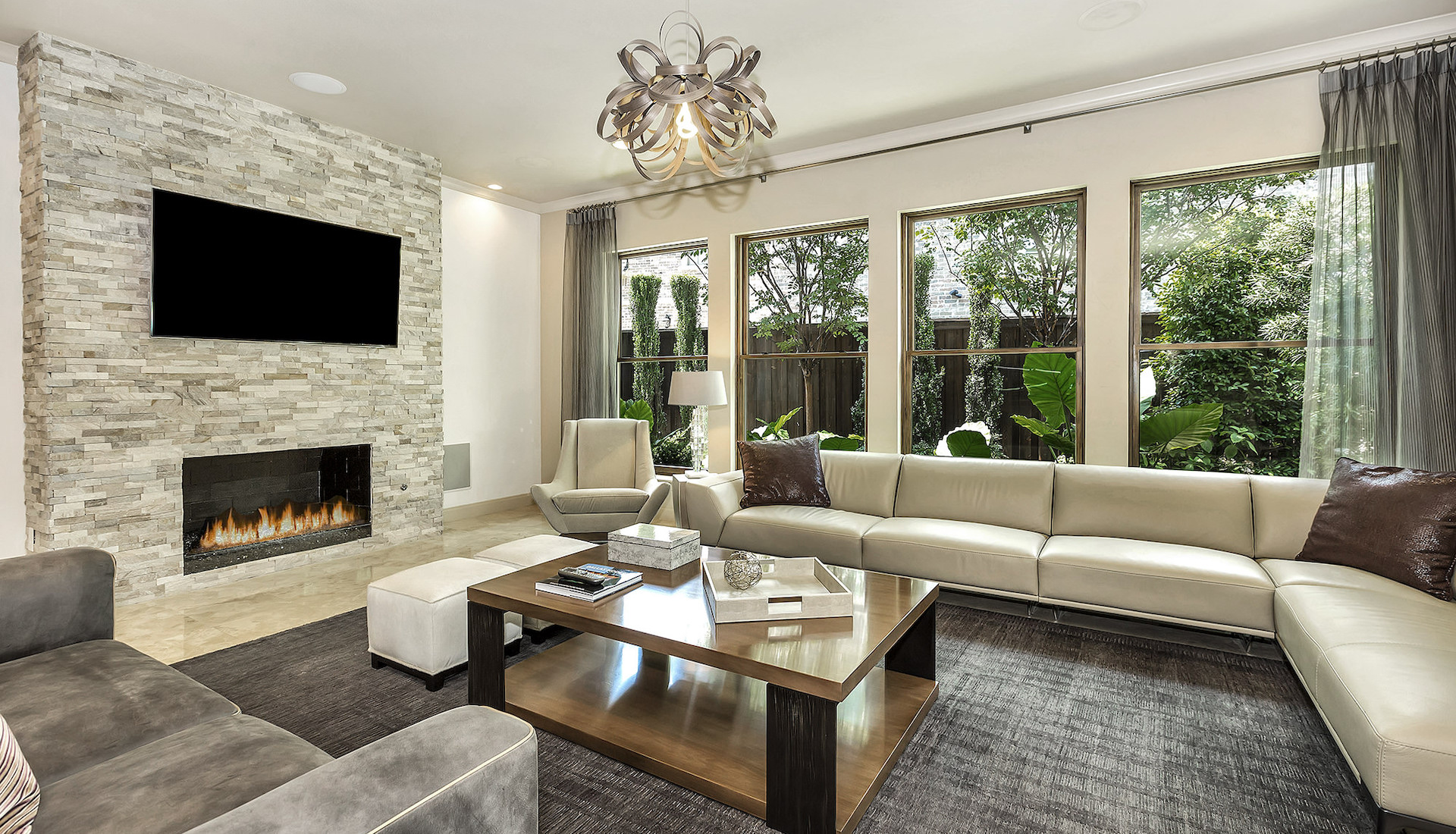 North Dallas Living Room Featured Photo 1920x1100