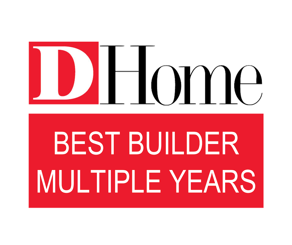 D HOME MAGAZINE BEST BUILDER MULTIPLE YEARS